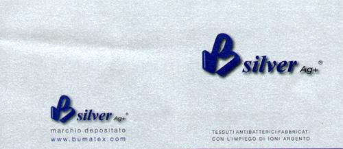 Materasso Memory Mod. Premium Silver  80x195 Zone Differenziate Argento Altezza Cm. 21 - Ergorelax