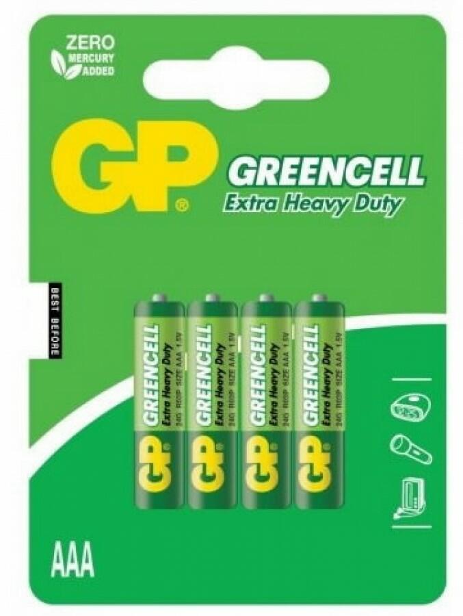 GP GREENCELL MINI STILO AAA 1,5V R03 GP BATTERIES