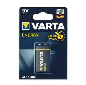 BATTERIA ALCALINA 9V E-BLOCK TRANSISTOR ENERGY VARTA