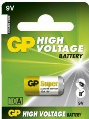 BATTERIA ALCALINA 10A 9V GP BATTERIES