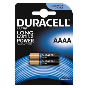 BATTERIE ALCALINE ULTRA LONG LASTING POWER AAAA 1,5V DURACELL