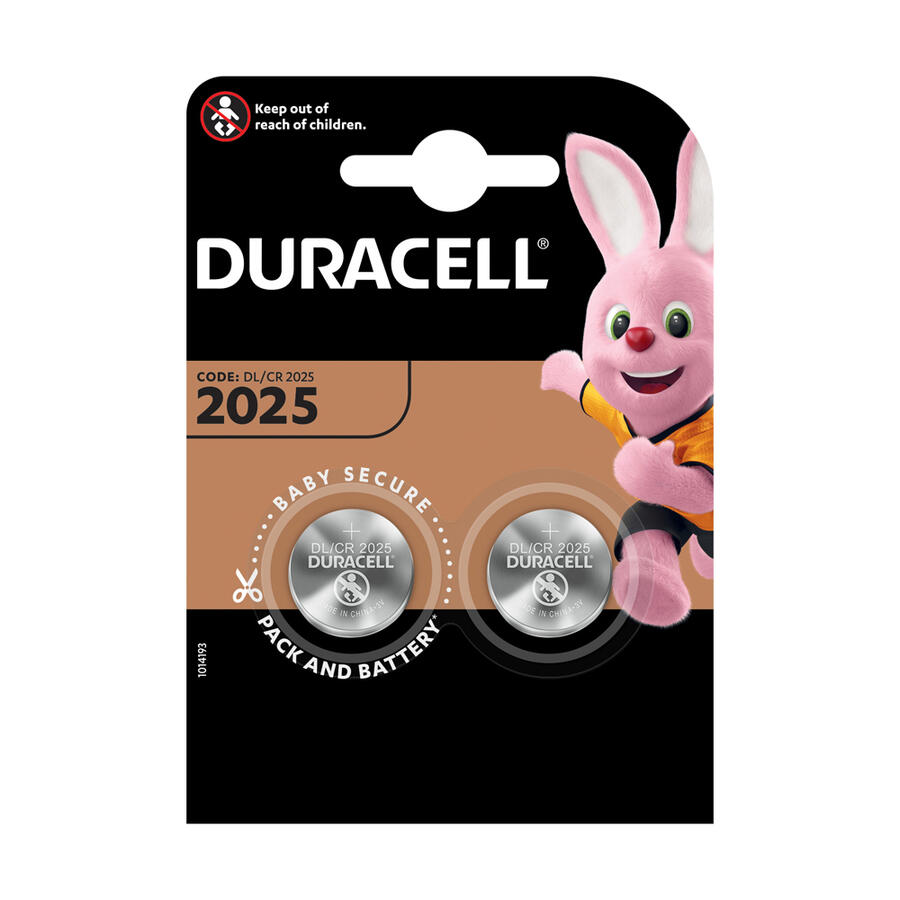 BATTERIE BOTTONE AL LITIO DL-CR 2025 DURACELL