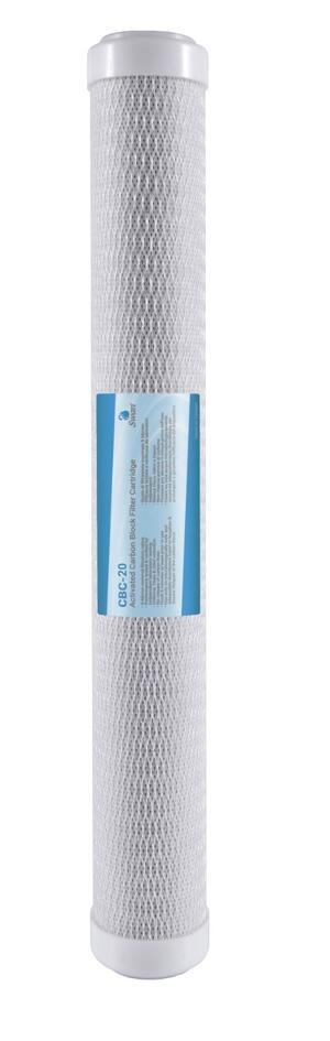 """Filtro Carbon Block CTO SWN 20"""" 5 μm"""