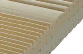 Materasso Memory Mod. Bio Soft da Cm 120x190/195/200 Zone Differenziate Argento Sfoderabile Altezza Cm. 22 - Ergorelax