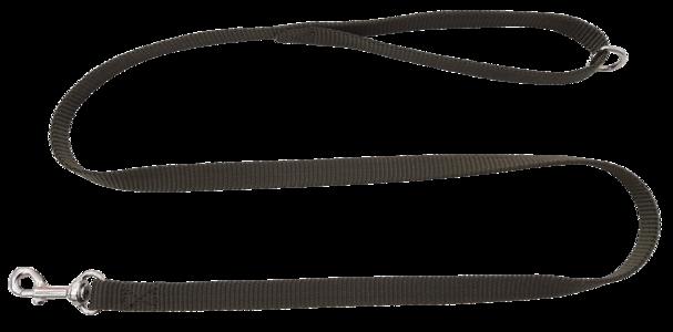 Guinzaglio in fettuccia ad alta resistenza mm.16 colore verde militare
