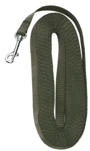 Lunghina per addestramento mt.10 in fettuccia ad alta resistenza mm.16 colore verde militare