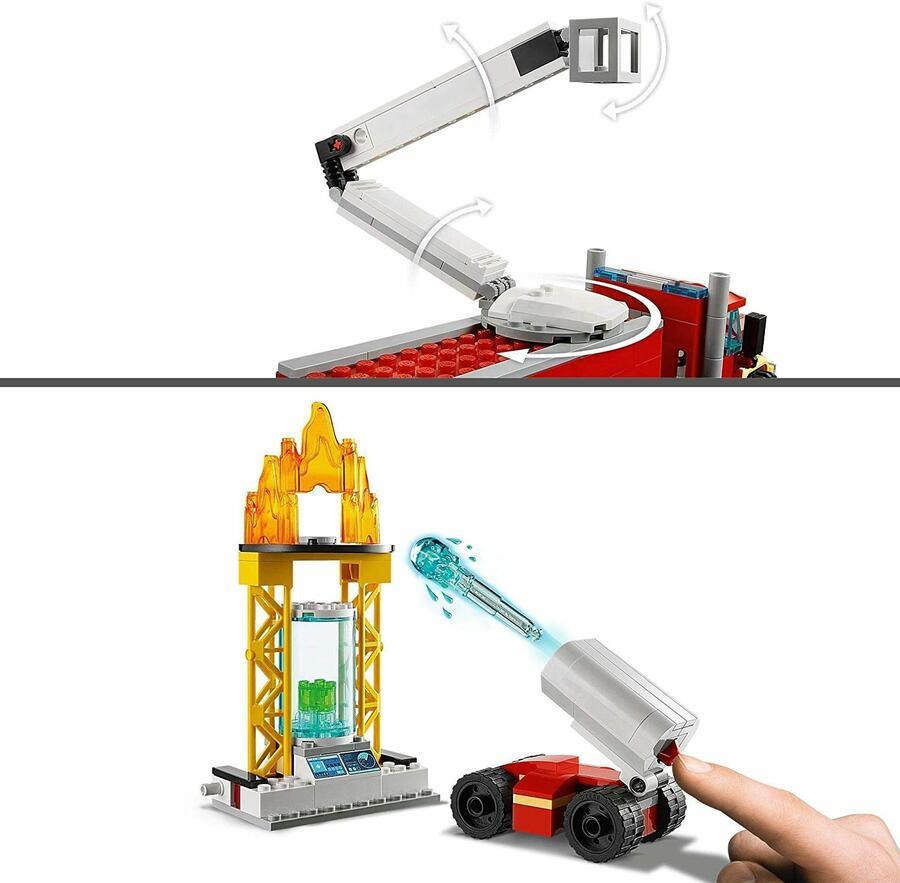 Unità di comando antincendio - Lego City 60282 - 6+