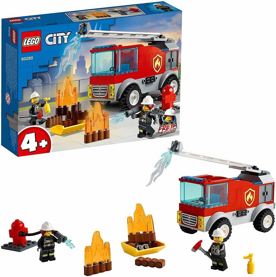 Autopompa con scala - Lego City 60280 - 4+