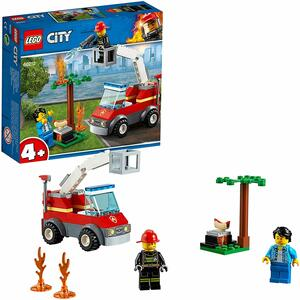 Barbecue infuocato Camion dei pompieri - Lego City 60212 - 4+