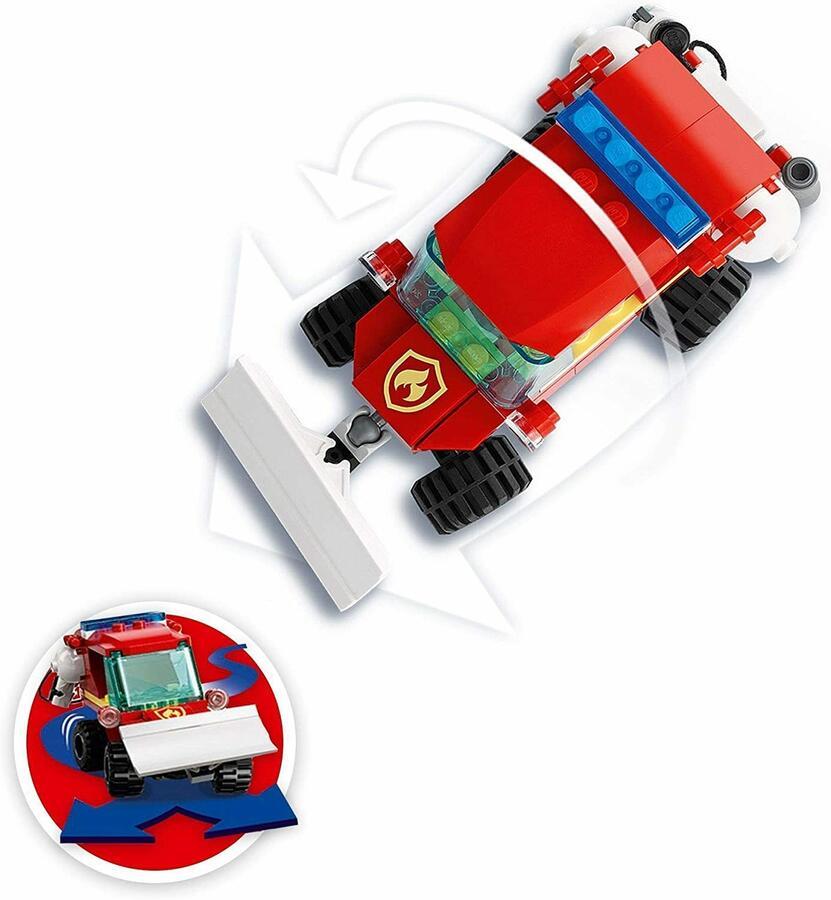 Camion dei pompiero - Lego City 60279 - 5+