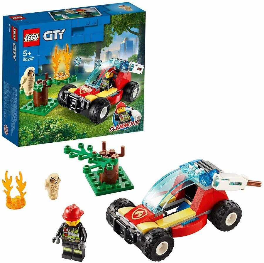 Incendio nella foresta - Lego City 60247 - 5+