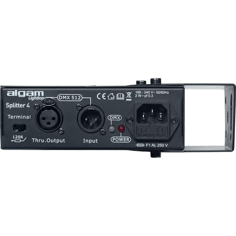 ALGAM LIGHTING - SPLIT DD4 SPLITTER DMX 4 CANALI