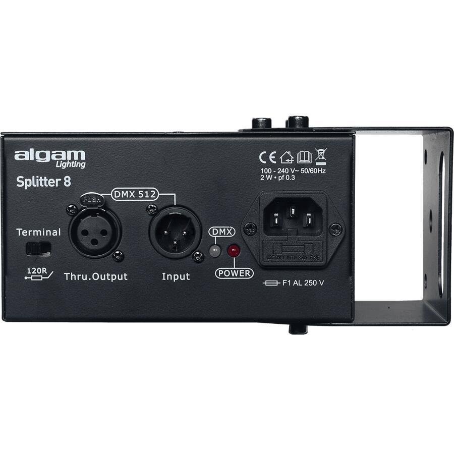 ALGAM LIGHTING - SPLIT DD8 SPLITTER DMX 8 CANALI
