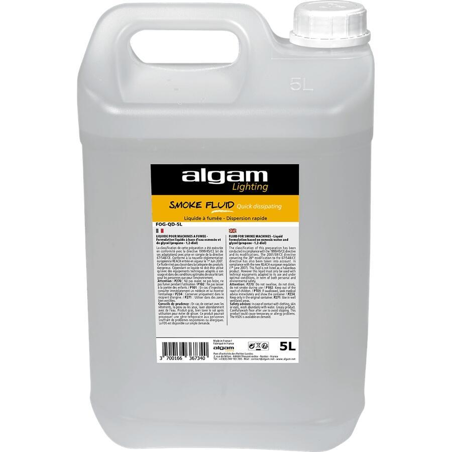 ALGAM LIGHTING - FOG-QD-5L LIQUIDO FUMO DISPERSIONE RAPIDA EFFETTO CO2