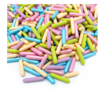 Pastel Party Rods 90g