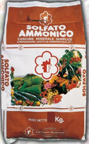 Solfato Ammonico Concime CE  Sacco da 10Kg
