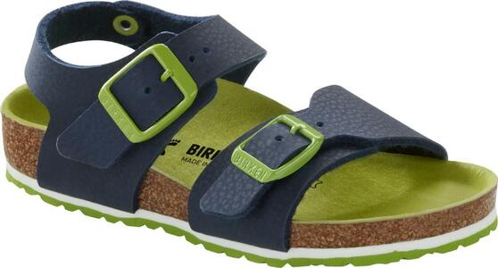 Birkenstock  - New York - Desert Soil Vibrant Blue