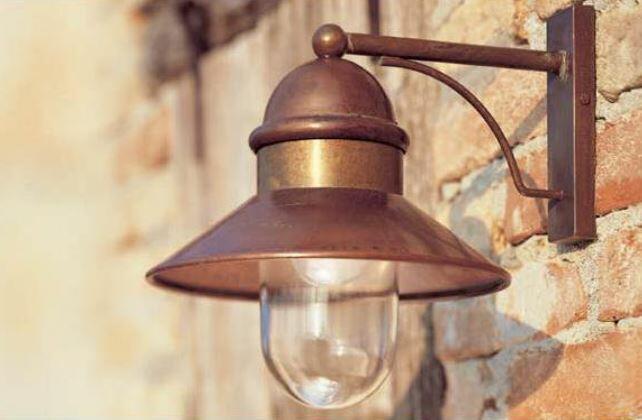 Lampada da Parete per Esterno Borgo de Il Fanale, Varie Misure e Finiture - Offerta di Mondo Luce 24