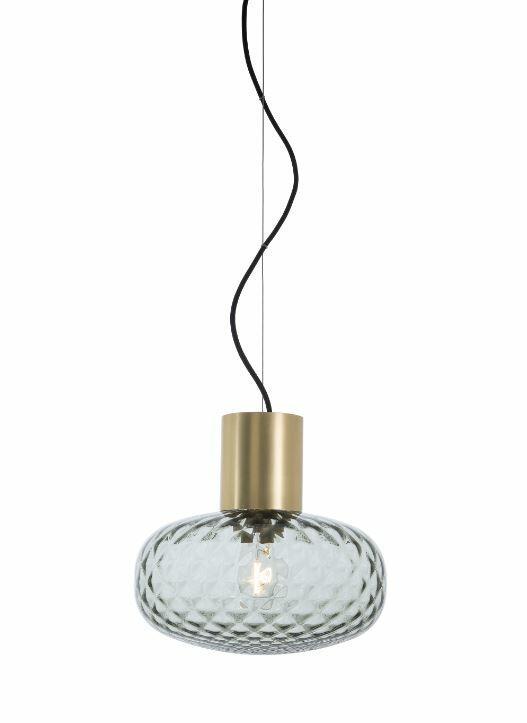 Lampada a Sospensione BLOOM al LED in Ottone e Vetro de Il Fanale, Varie Misure e Finiture - Offerta di Mondo Luce 24