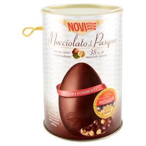 Uovo Nocciolato Extra Fondente  370 gr Novi
