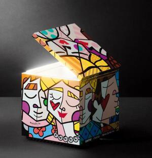 Lampada da Tavolo CUBOLUCE Britto di Cini&Nils, Varie Finiture - Offerta di Mondo Luce 24