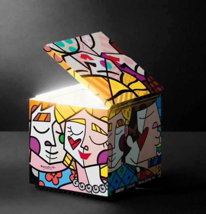 Lume per Comodino CUBOLUCE Britto di Cini&Nils, Varie Finiture - Offerta di Mondo Luce 24