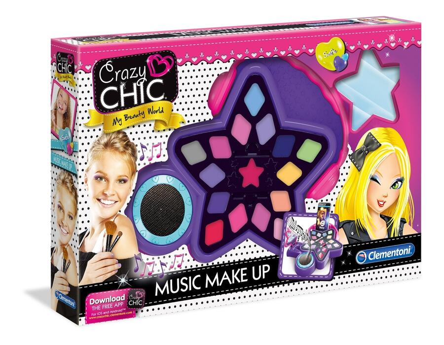 Crazy Chic Music Make Up - Clementoni 15137