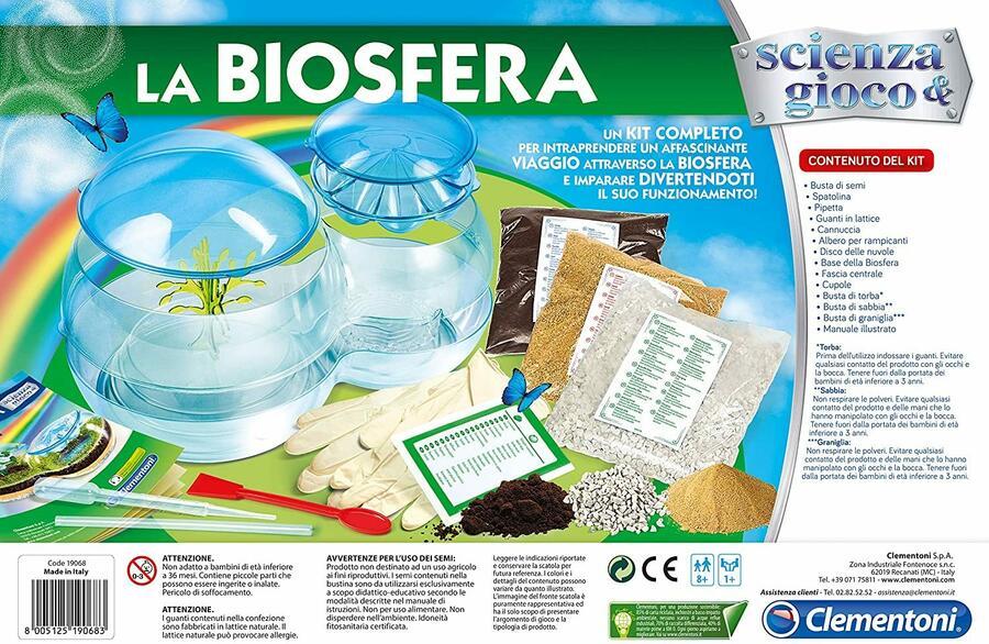 La Biosfera - Clementoni 19068 - 8+