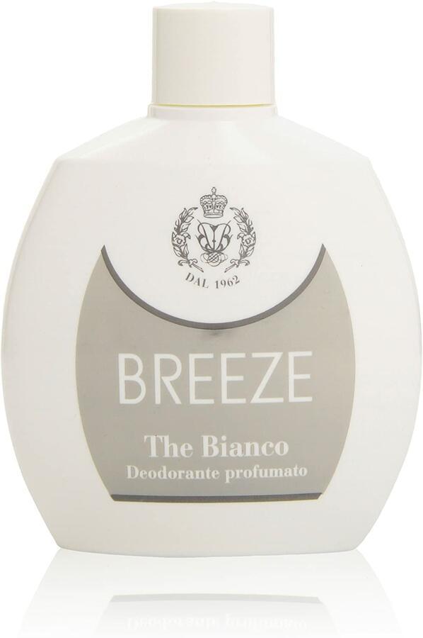 Breeze - Deodorante profumato, The Bianco, No gas - 100 ml