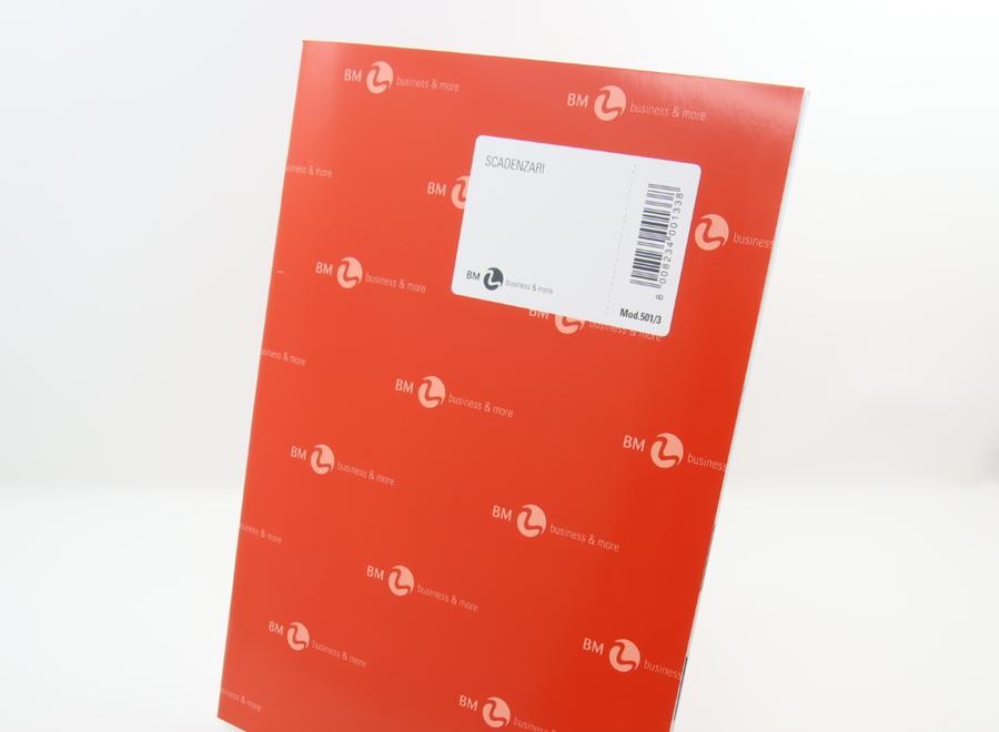 SCADENZIARIO A4 501/3 GENNAIO-DICEMBRE BUSINESS & MORE