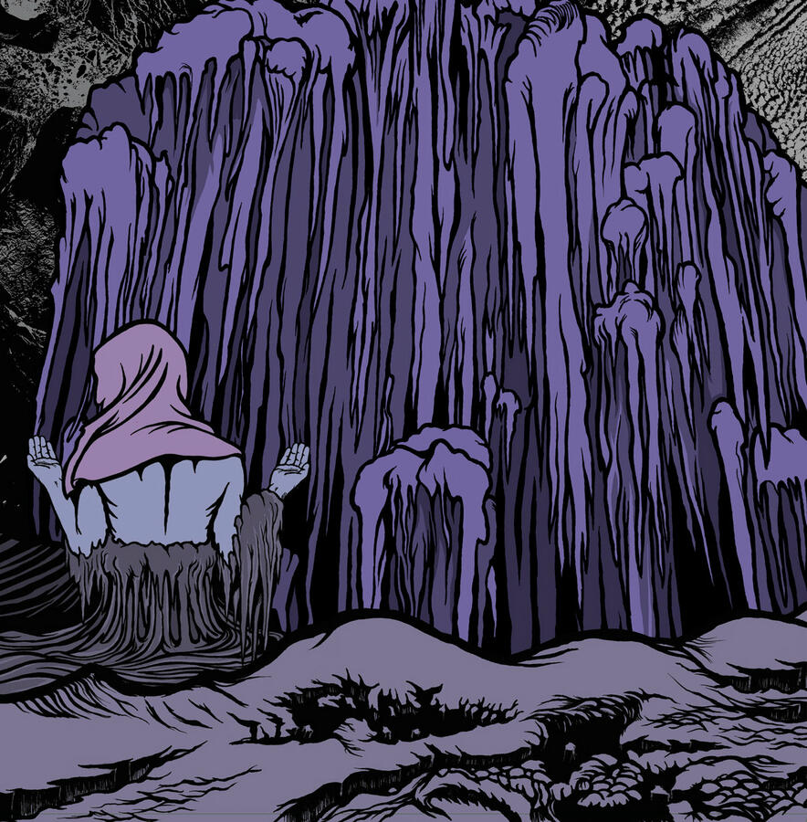 ELDER    - SPIRES BURN - EP LIMITED EDITION COLORED PURPLE VINYL + DOWNLOAD CODE (Stickman Records)