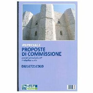 PROPOSTE DI COMMISSIONE MODULI AUTORICALCANTI IN DUPLICE COPIA DU16382C000 DATA UFFICIO