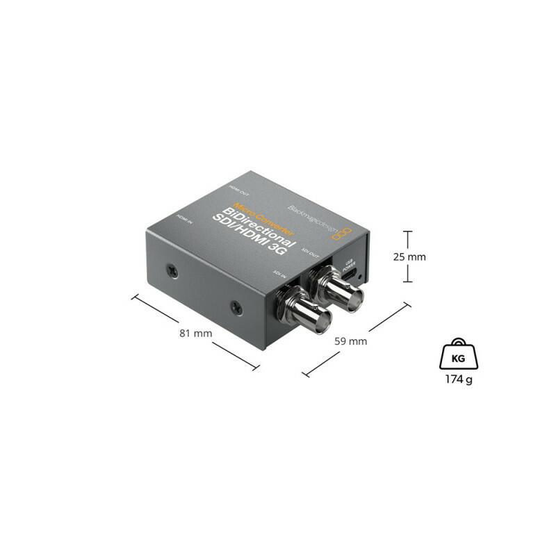 Blackmagic Micro Converter BiDirect SDI/HDMI 3G PSU