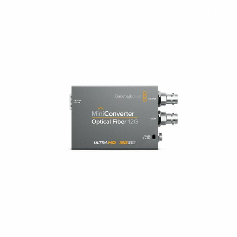 Blackmagic Mini Converter - Optical Fiber 12G