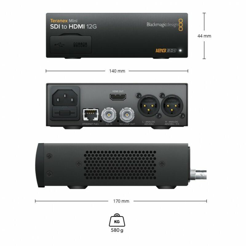 Blackmagic Teranex Mini - SDI to HDMI 12G