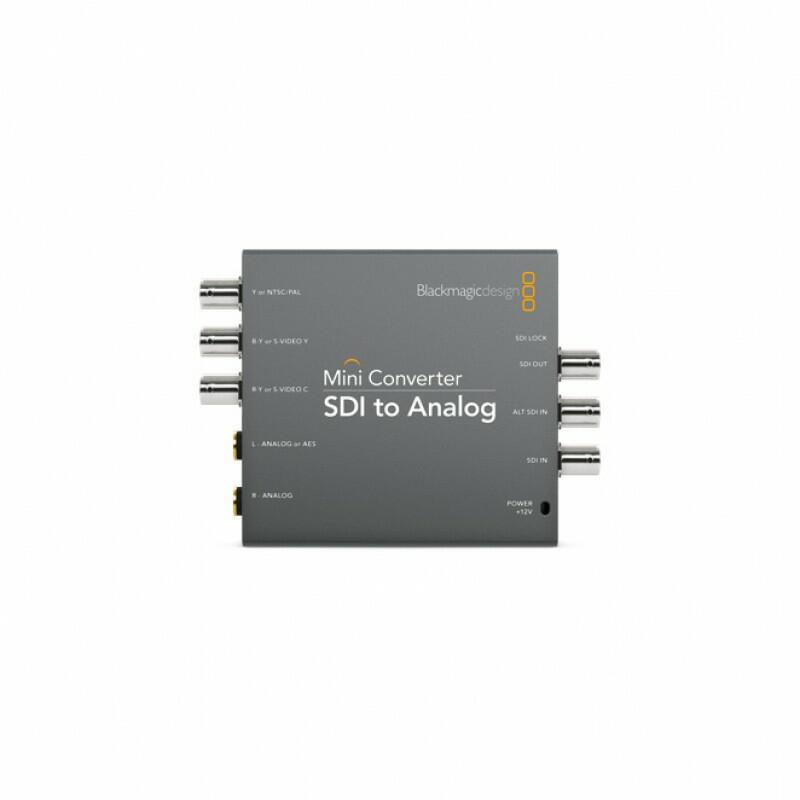 Blackmagic Mini Converter - SDI to Analog