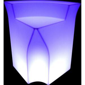 LED-BARCORNER - Outdoor Light Bar Bench – Corner