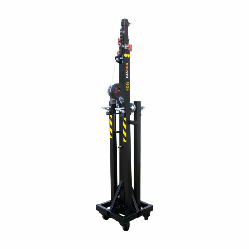 Fantek - T103D - Torre telescopica di 5,2 m - Carico massimo: 150 kg