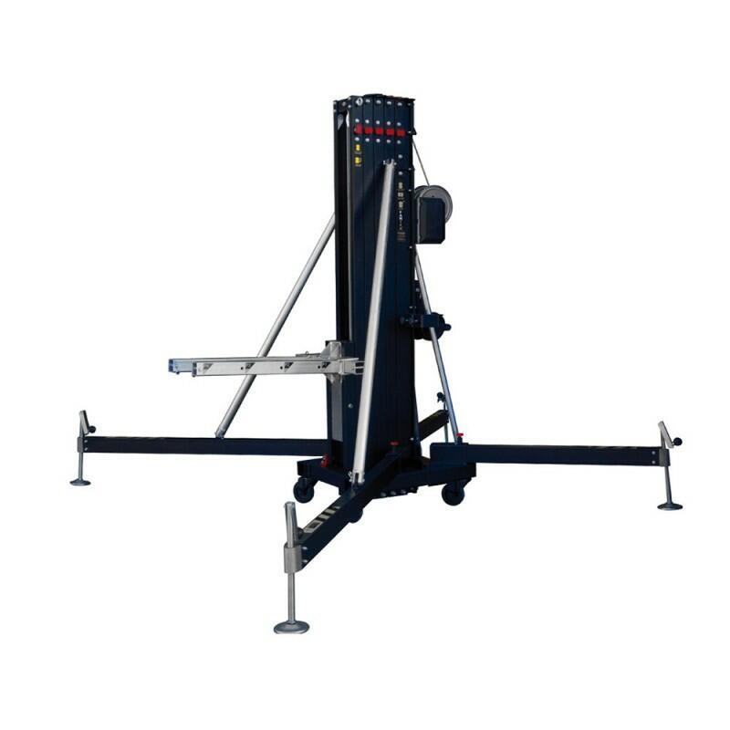Fantek - FT6033 - Torre di sollevamento per carico frontale PRO 6,1m - Carico massimo: 330 kg