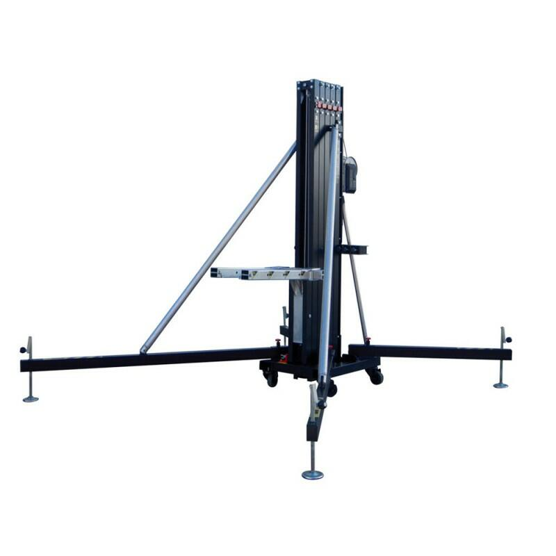 Fantek - FT6520 - Torre di sollevamento per carico frontale PRO 6,35m - Max. carico: 200 kg