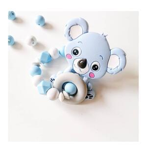 Anello dentizione Koala Azzurro