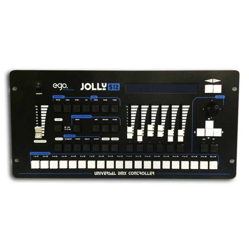 Ego Professional - Jolly 512 Universal DMX Controller