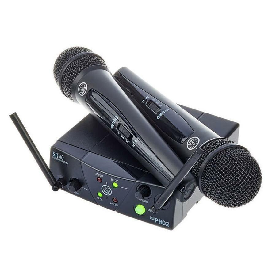 AKG - WMS 40 Mini Dual Vocal Set - ISM2