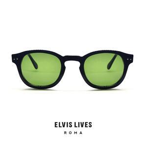 Elvis Lives Sunglasses - Baghi Black