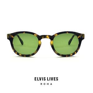 Elvis Lives Sunglasses - Baghi Tortoise