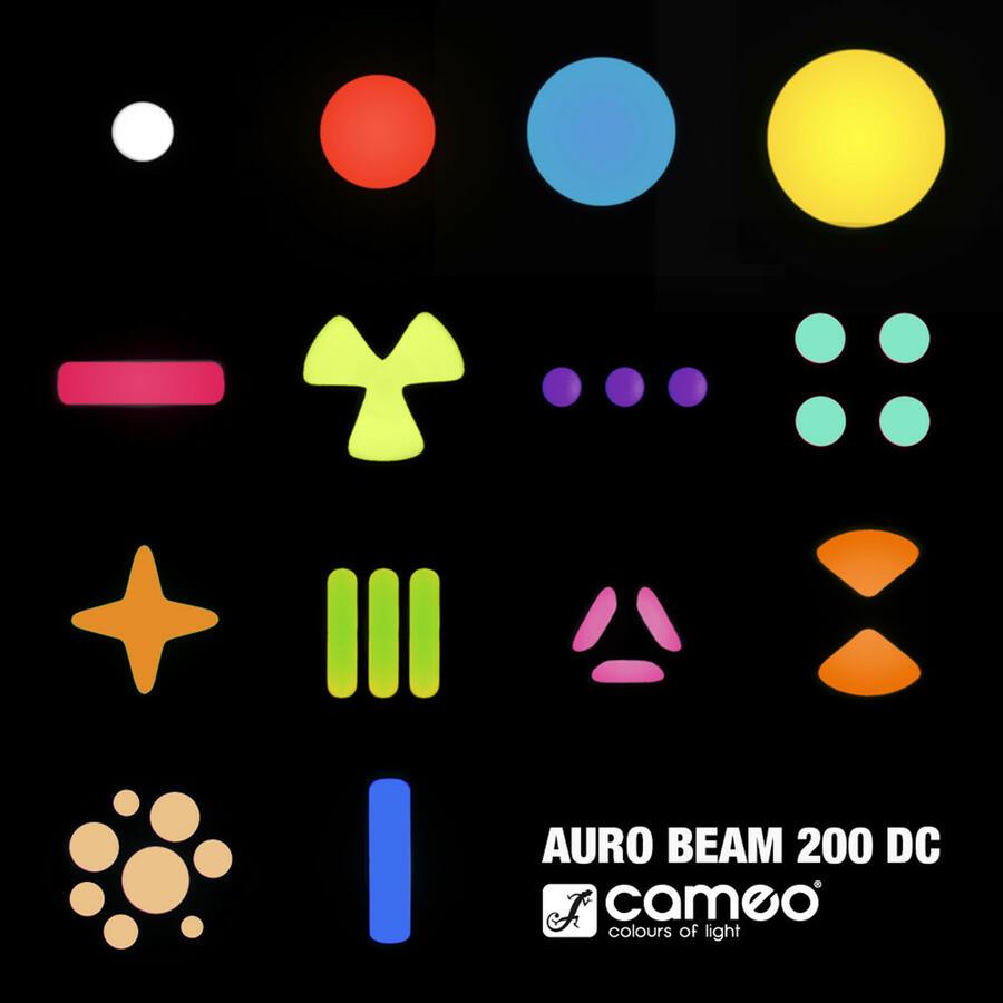 Cameo AURO® BEAM 200 DC