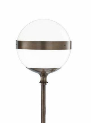 Lampada da Terra PEGGY in Vetro Bianco Lucido di Vetreria Vistosi, Varie Finiture - Offerta di Mondo Luce 24