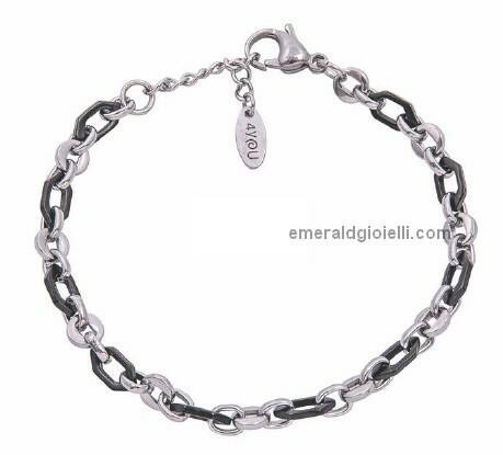 B10437 Bracciale regolabile Uomo 4you jewels