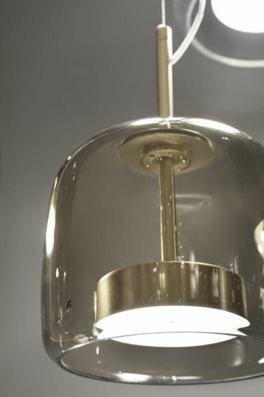 Lampada a Sospensione JUBE in Vetro Trasparente di Vetreria Vistosi, Varie Misure e Finiture - Offerta di Mondo Luce 24