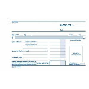 RICEVUTE CONDOMINIO CARTA AUTOCOPIANTE DUPLICE COPIA MOD. 880 BUSINESS & MORE